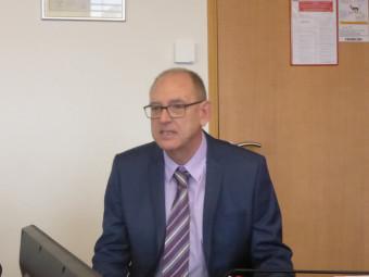 Pascal Enrietto Directeur de la CPAM des Vosges.