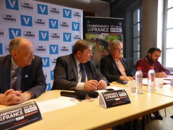 La Fédération française de cyclisme et La Vôge VTT signent une convention de partenariat pour l'organisation des championnats de France 2019 de VTT à assistance électrique à Épinal.