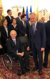 Jean-Jacques Gaultier avec les députés allemands (archives)
