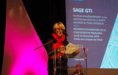 Régine Bégel présidente de la CLE