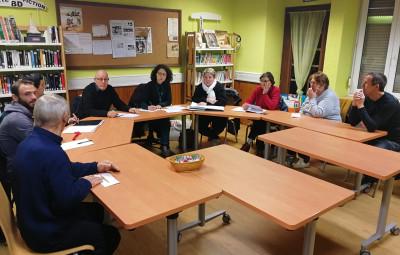 Réunion du bureau de l'association Les Amis de Lignéville.