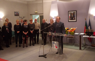 Le Maire Simon Leclerc a présenté ses voeux aux 97 employés de la communes.