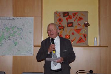 Christian Prévot, président de la communauté de communes Terre d'eau