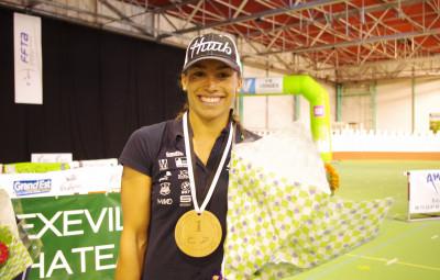 Margot Garabedian, recordwoman de l'épreuve et du nombre de victoire avec 4 sacres