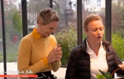 (capture d'écran Les Carnets de Julie dans les Vosges)