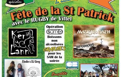 Affiche St Patrick 2019