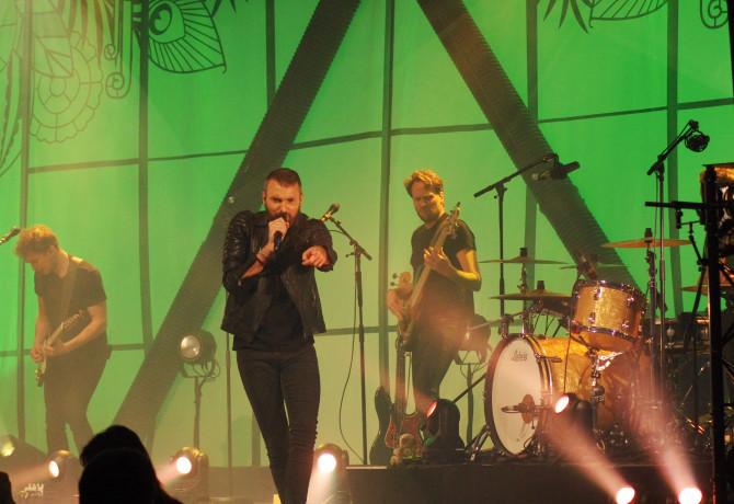 Un Christophe Willem exceptionnel sur scène.