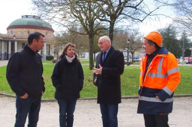 Eric Caro, Anne Colnot, Luc Gerecke et Cyrille Gény (de g. à dr.)
