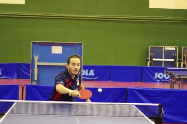 Arnaud Milliotte a apporté deux des trois points que les pongistes thermaux ont remporté.