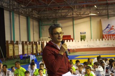 Matthieu Schaffauser (directeur départemental UNSS 88)