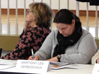 Jenny Willemin, maire de Martigny-les-Gerbonvaux