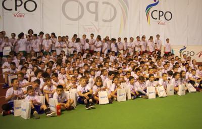 Quelque 230 apprentis basketteurs ont participé à cette fête.