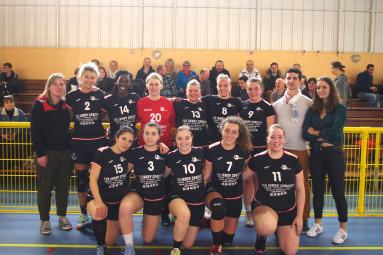 Les handballeuses contrexévilloises