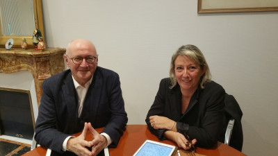 Luc Gerecke et Véronique Perussault