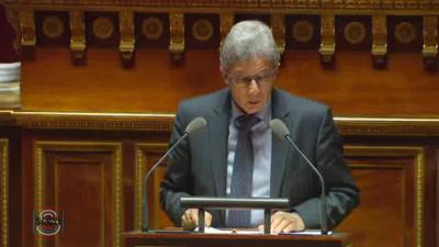 Le sénateur vosgien, Daniel Gremillet.