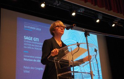 Régine Bégel (présidente de la CLE).