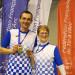 Emmanuel Masson et Paulette Courte (Dombasle-sur-Meurthe) ont remporté le titre dans leur catégorie respective.
