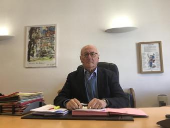 Le maire Luc Gerecke, fidèle au poste pour gérer les affaires courantes et urgentes.