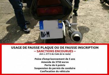 (Photo d'illustration de la gendarmerie des Vosges)