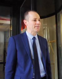 Le sous-préfet Benoît Rochas.