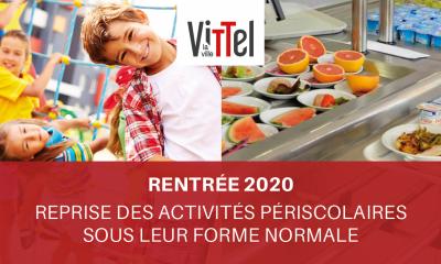 Reprise scolaire 2020-2021