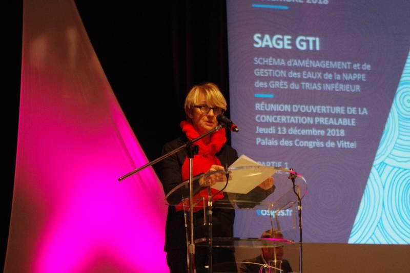 Régine Bégel (présidente de la CLE)