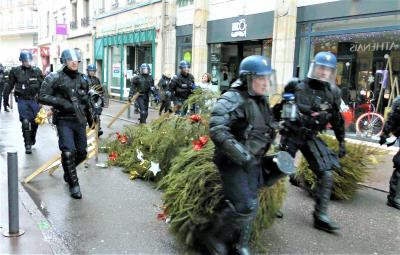 (Photo d'illustration, manifestation de «Gilets Jaunes» à Epinal)