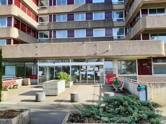 Le centre hospitalier de l'Ouest Vosgien.