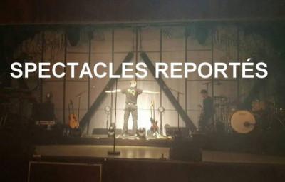 Spectacles reportés à Vittel.