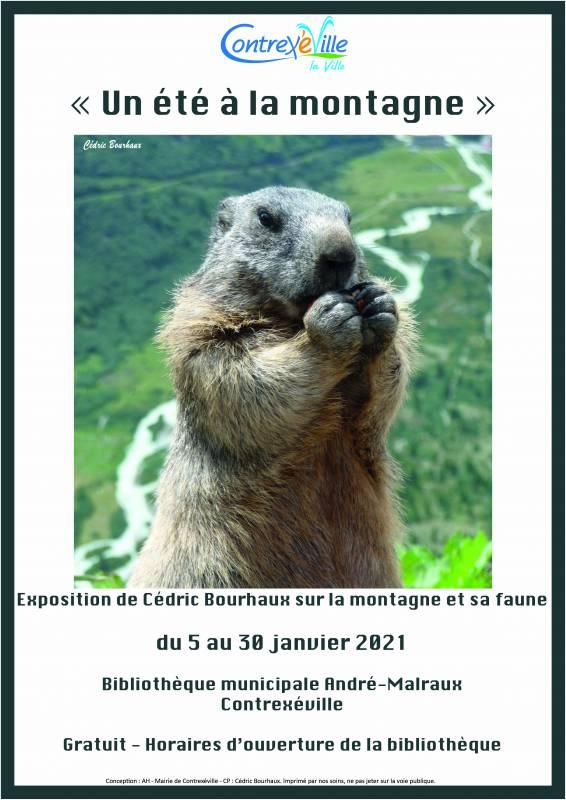 Affiche exposition C Bourhaux