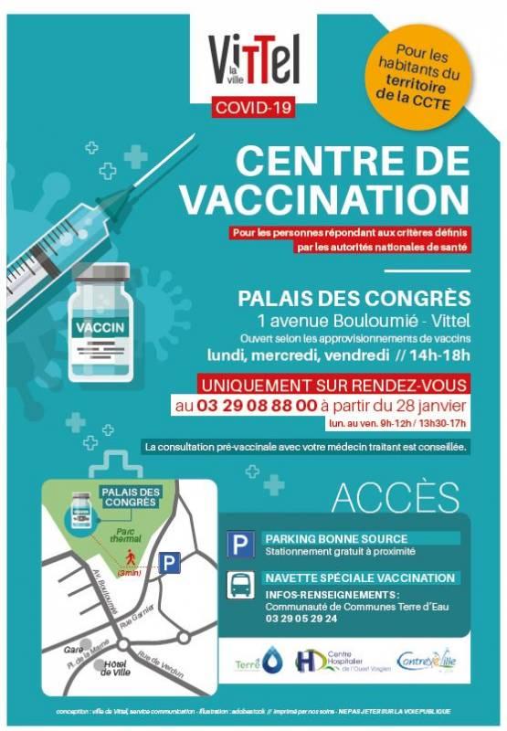 Centre vaccination