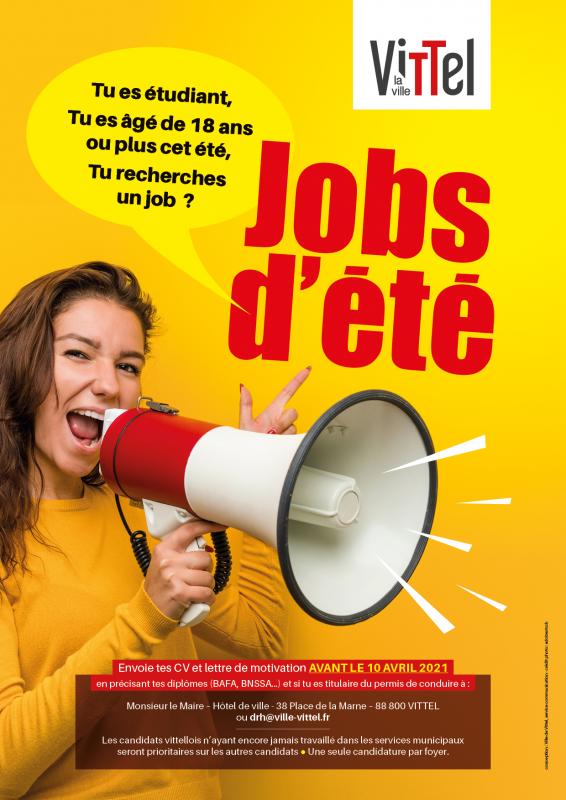 affichette jobs été 2021