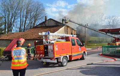 Hadol incendie maison